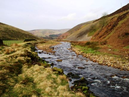 The beautiful Langden Brook in the heart of Bowland