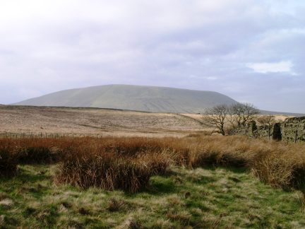 Pendle Hill - one of the most iconic of Pennine hills