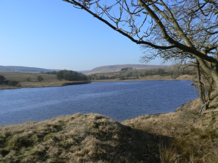 Stocks Reservoir, by far the largest sheet of water in Bowland
