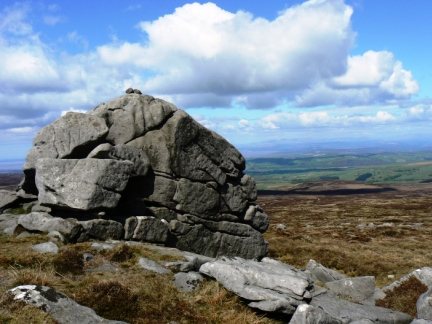 Ward's Stone - the highest point in Bowland