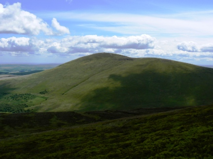 Hedgehope Hill, second highest of the Cheviot hills