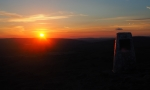 Beamsley Beacon at sunset