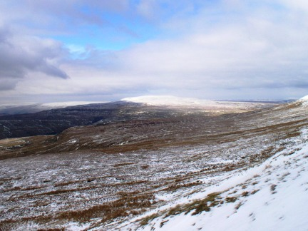 Buckden Pike from Great Whernside