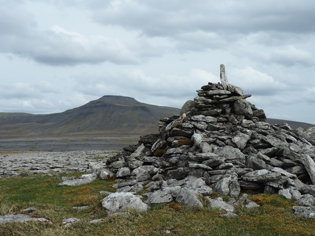 The large cairn on Ewes Top