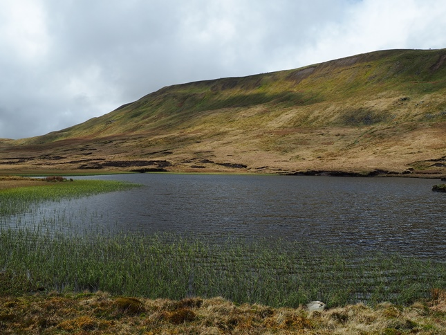 Whernside from Greensett Tarn