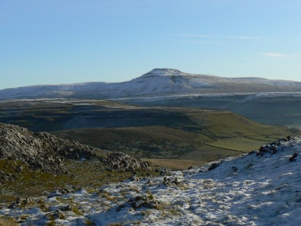 Ingleborough as seen from Tow Scar