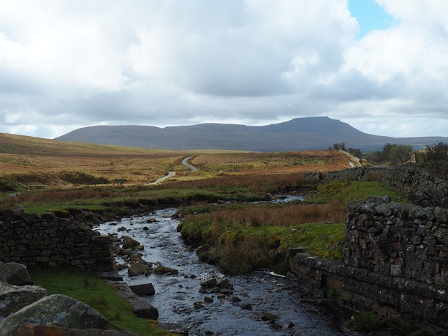 Ingleborough from the aqueduct