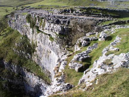 Malham Cove - one of the great natural features of the Dales