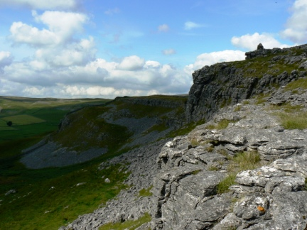 On Moughton Scar