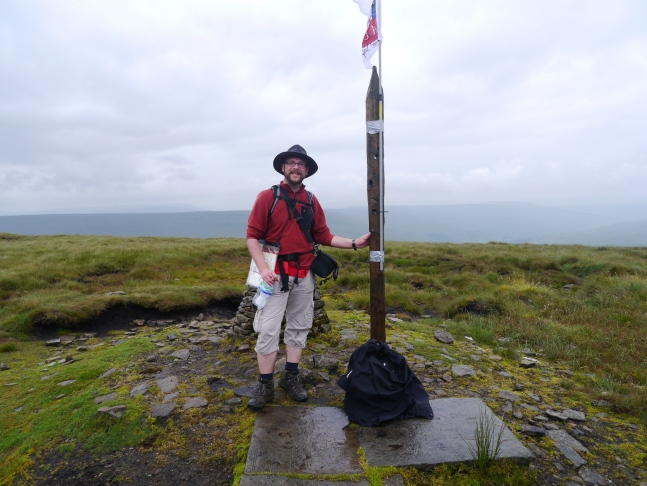 On the top of Buckden Pike