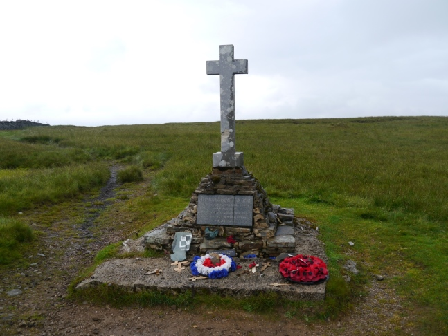 The memorial to the Polish airmen