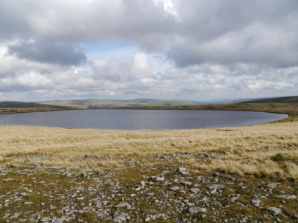 The large tarn on West Baugh Fell