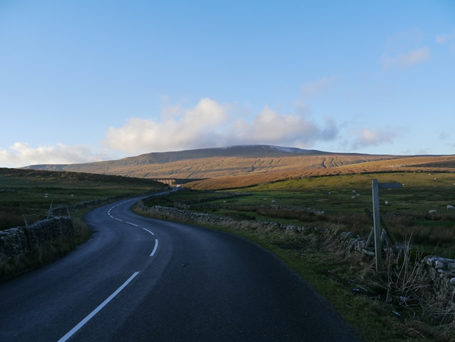 Whernside from the road approaching Ribblehead