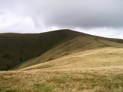 Arant Haw's smooth grassy slopes are typical of the Howgills
