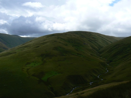 Middleton and Churn Gill as seen from Uldale End