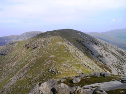 Beinn Bharrain - the highest of the Pirnmill Hills