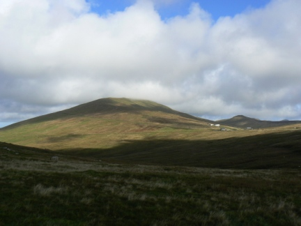 Snaefell - the highest point on the Isle of Man