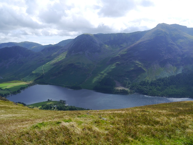 Buttermere, High Crag and High Stile from High Snockrigg