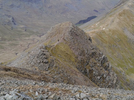 Looking down on Cofa Pike