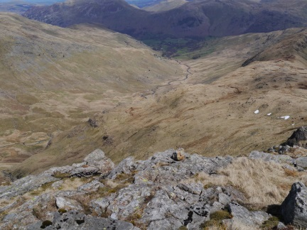 Deepdale from the climb up Hart Crag