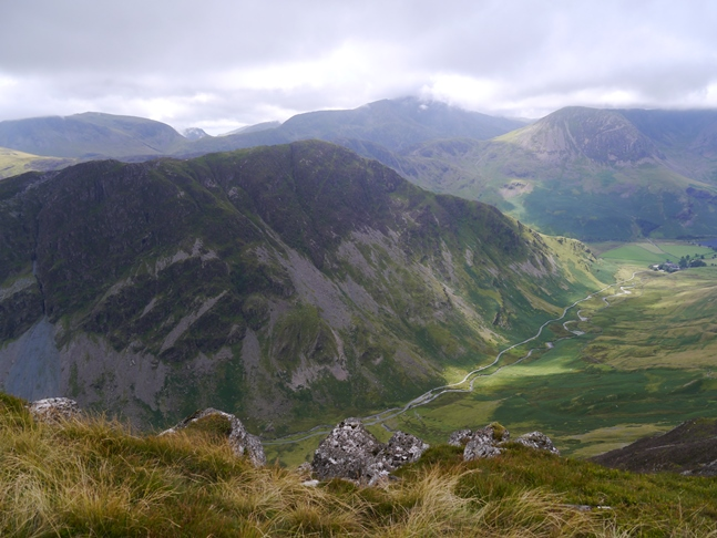Fleetwith Pike from Hindscarth Edge