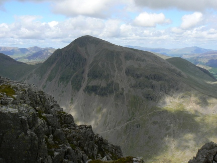 Great Gable from Lingmel