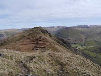 Looking back at Hartsop Above How