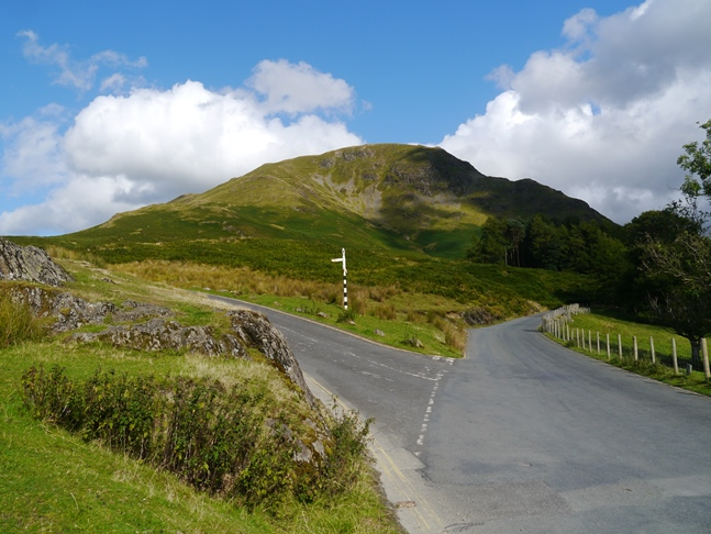 Looking back up at High Snockrigg