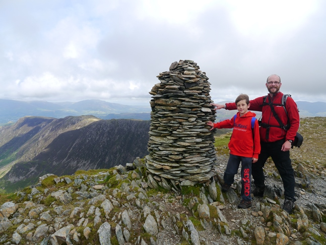 On the summit of Dale Head