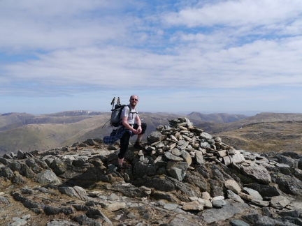 On the top of Hart Crag