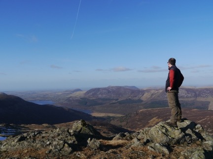 On Little Gowder Crag