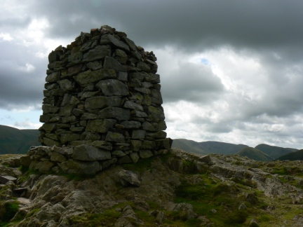 The top of Hallin Fell