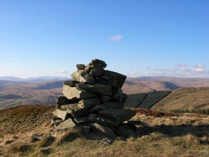 The top of Mabbin Crag