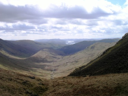 The Troutbeck Valley from Threshthwaite Mouth