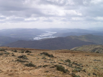 Windermere from Caudale Moor