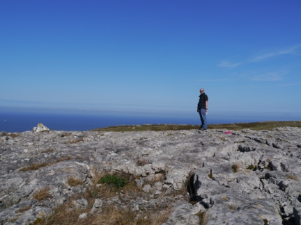Limestone pavement on Great Orme
