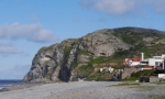 Little Orme from the beach at Craigside