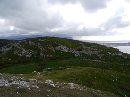 Little Orme Head from Creigiau Rhiwledyn