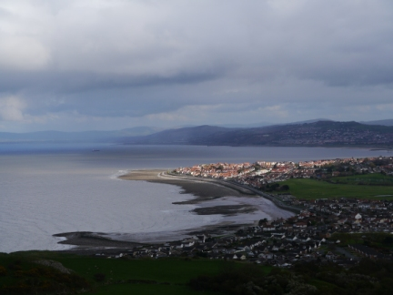 Rhos-on-Sea and Colwyn Bay from Little Orme