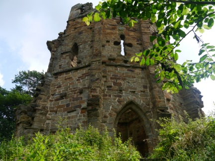 Mowbray Castle - one of the follies in Hackfall Woods