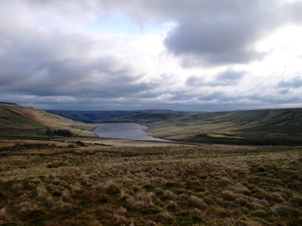 Scar House Reservoir in Upper Nidderdale