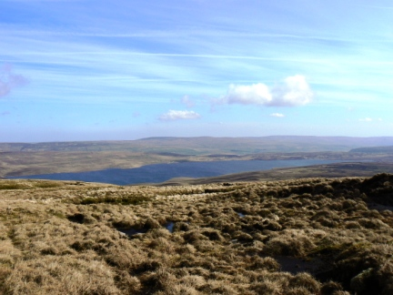 Cow Green Reservoir from Meldon Hill