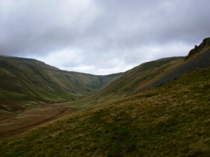 Entering High Cup Gill