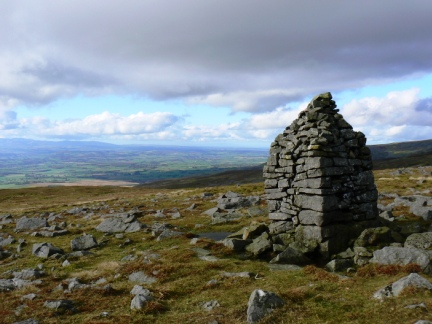 The cairn known as the 'Knock Old Man'