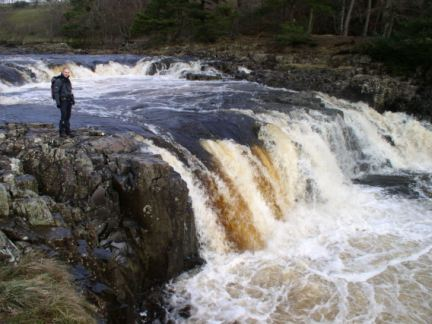 Matt stood by Low Force