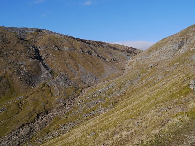 Threlkeld Side and the head of Great Rundale