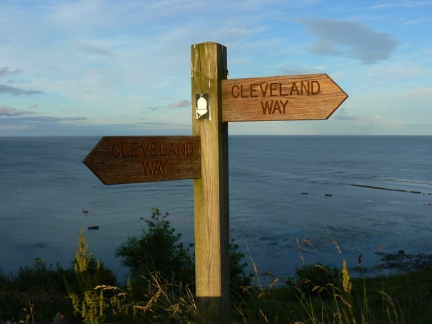 The second half of the walk followed the Cleveland Way