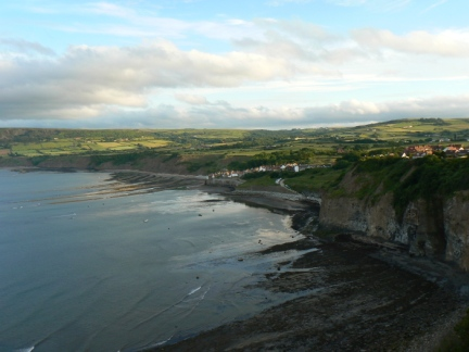 Looking down to Robin Hood's Bay