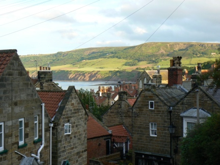The rooftops of Robin Hood's Bay