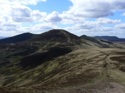 Scald Law - the highest of the Pentland Hills